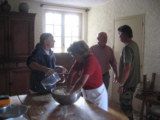 Préparation de la pâte à pain